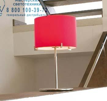CPL T30 опаловое красное стекло/хром, настольная лампа Prandina 1084000510106