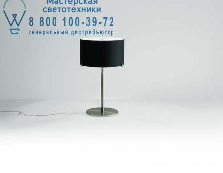 Prandina 1084000610105 настольная лампа CPL T31 опаловое черное стекло/хром