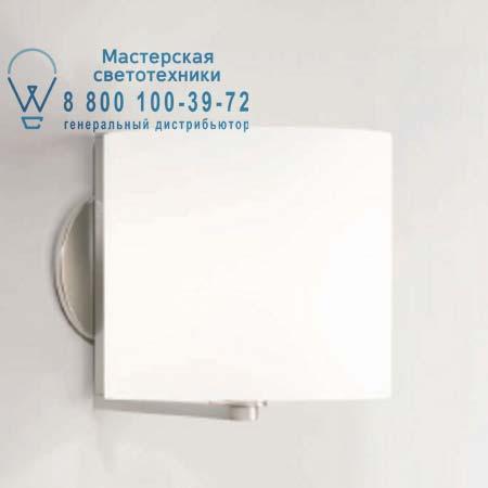 CPL W1 опаловое белое стекло/хром, бра Prandina 1085000110101