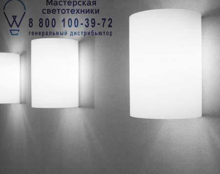 MOOD ECO W3 опаловое белое стекло/белый фильтр, бра Prandina 1255000310041
