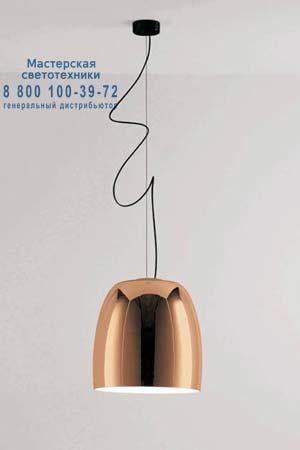 NOTTE S3 медный/белый внутри, подвесной светильник Prandina 1283000113570
