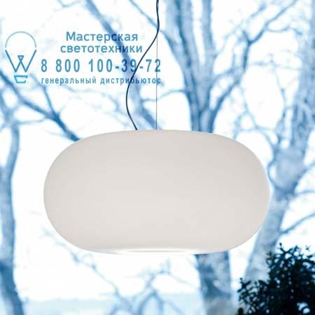 OVER S5 опалевое белое сткело/никель, подвесной светильник Prandina 1303000310201
