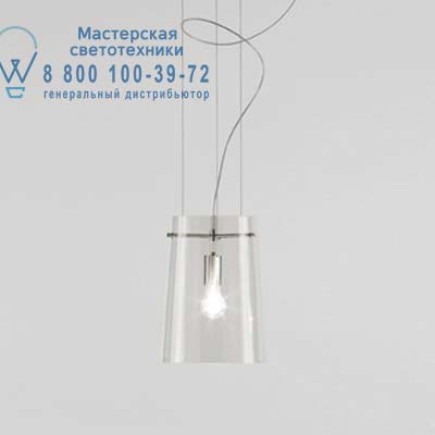 1343000110220 Prandina SERA SMALL S1 прозрачный/никель