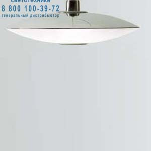 Prandina ZERO S7 опаловое белое стекло/хром 1423001310101