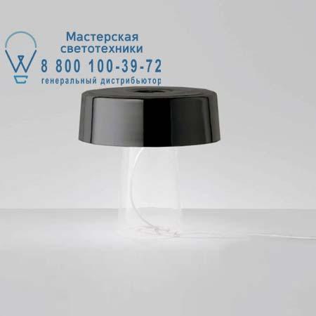 Prandina 1474000112005 GLAM T1 прозрачный/опаловое черное стекло
