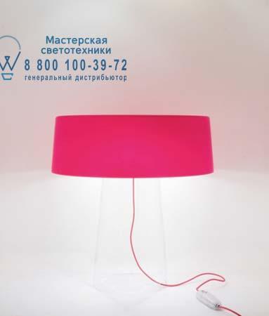 Prandina 1474000112006 GLAM T1 прозрачный/опаловое красное стекло