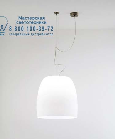 1673000110100 Prandina NOTTE S9 полиэтиленовый матовый белый хром