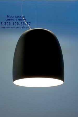 1673000110105 Prandina NOTTE S9 полиэтиленовый матовый черный/белый внутри хром