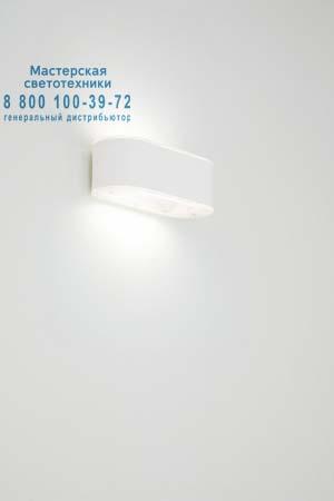 Prandina 1805000413020 бра BRIKETT W1 матовый белый /белое прозрачное сетчатое стекло