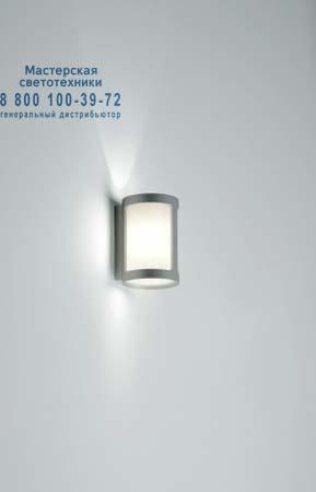 ROCK W1 глянцевый белый/серо-серебристый, бра Prandina 1825000313332