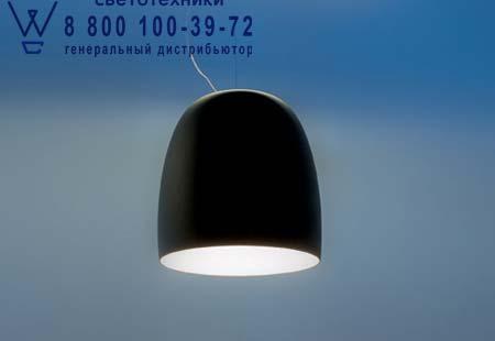 NOTTE S3 металлический черный/белый внутри никель, подвесной светильник Prandina 1843000110224