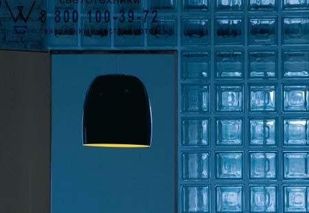 Prandina 1843000410159 подвесной светильник NOTTE S7 металлический черный/золотой внутри хром