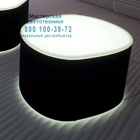 Prandina 1862000213005 торшер ROOM F50 (IP20) опаловый белый/черная ткань