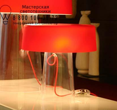 1884000110006 Prandina GLAM SMALL T1 прозрачный/опаловое красное стекло