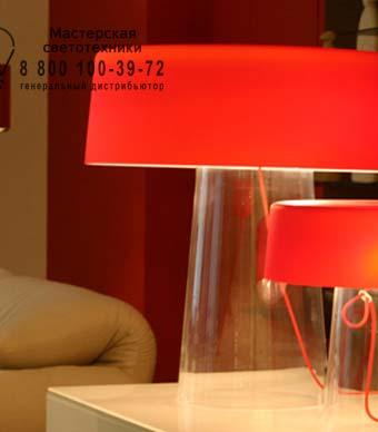 1884000210006 Prandina GLAM SMALL T3 прозрачный/опаловое красное стекло