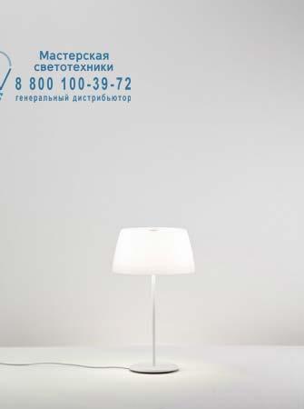 GINGER T30 опаловый белый/матовый белый, настольная лампа Prandina 1904000413001