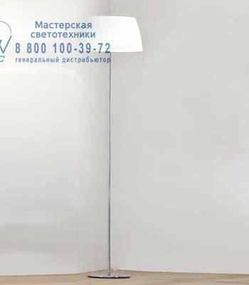 Prandina 1912000410101 торшер GINGER GLASS F30 опаловое белое стекло/хром