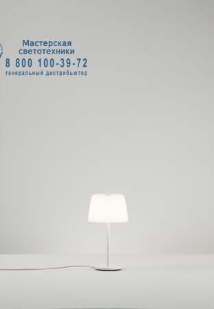 Prandina 1914000113001 GINGER GLASS SMALL T1 опаловое белое стекло/матовый белый