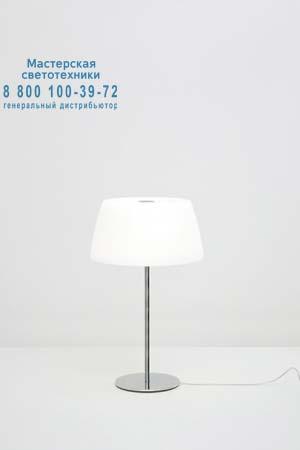 Prandina 1914000510101 настольная лампа GINGER GLASS T30 опаловое белое стекло/хром