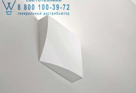 Prandina 1995000413001 бра LEMBO LED WW1 матовый белый