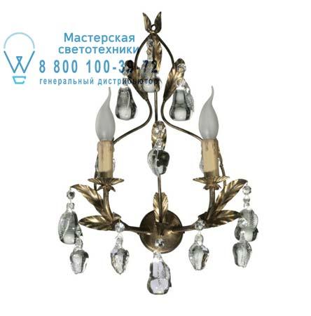 Tredici Design 1300F.2 col.oro бра 1300F.2 col.oro золотой