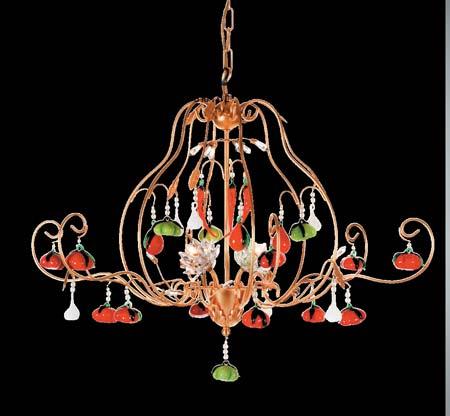 1314A/4 золотой, люстра Tredici Design 1314A/4