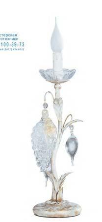 1321.1FG CR белый, настольная лампа Tredici Design 1321.1FG CR