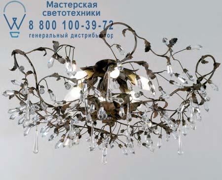 1330.6CR PL коричневый, потолочная люстра Tredici Design 1330.6CR PL