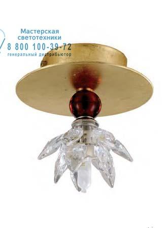 1398.1B SPOT Tredici Design 1398.1B SPOT золотой с красным кристаллом