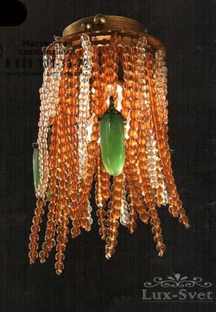 Tredici Design 1399 B/SPOT золотой с красными кристаллами 1399 B/SPOT