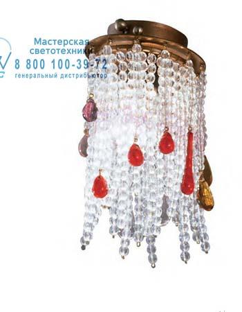 Tredici Design 1399 D/SPOT потолочная люстра 1399 D/SPOT медный с разноцветными кристаллами