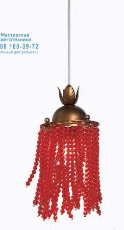 Tredici Design 1399 F 1399 F золотой с красными кристаллами