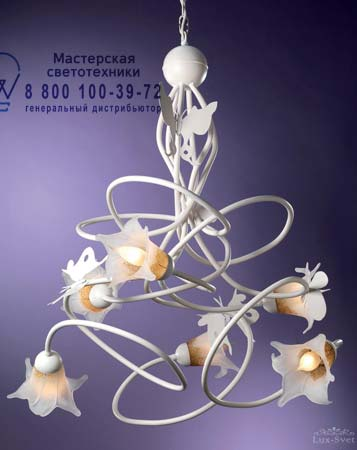 Tredici Design 1403.6 VE бело-золотой 1403.6 VE
