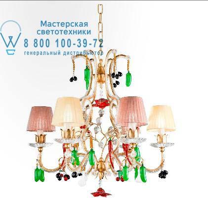 1412.6CP, подвесной светильник Tredici Design 1412.6CP