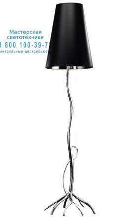 Tredici Design 1430CP 1430CP серебристый с черным плафоном