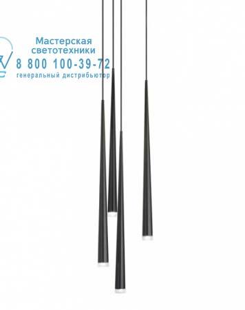 SLIM 0915 Черный, подвесной светильник Vibia 0915-04