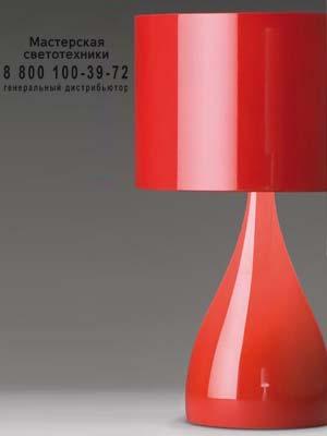 JAZZ 1333 Красный, настольная лампа Vibia 1333-06