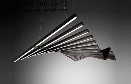 Vibia 2113-14 подвесной светильник RHYTHM 2113 Коричневый