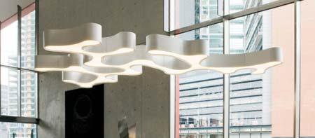 AMEBA 2205 Белый, подвесной светильник Vibia 2205-03