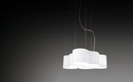 EIGHT 5335 Белый, подвесной светильник Vibia 5335-01
