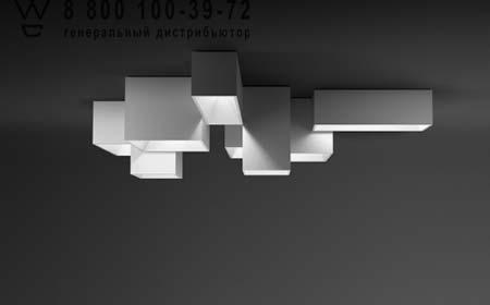 LINK XXL 5350 Белый, потолочный светильник Vibia 5350-03