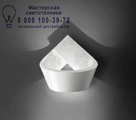 Vibia 7706-03 LOOP 7706 Белый с элементами сваровски