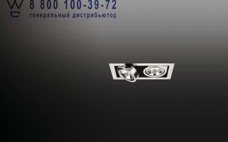 Vibia 8141-01 встраиваемый светильник CORNER 8141 хром