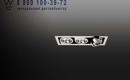 Vibia 8142-01 встраиваемый светильник CORNER 8142 хром