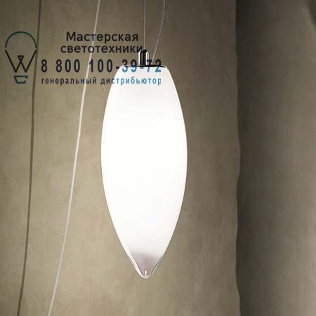 BACONA SP D1 E27 белый прозрачный, подвесной светильник Vistosi BACONA SP D1 E27