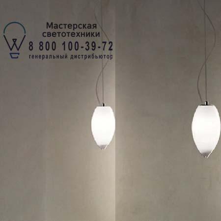 BACONA SP D2 E27 белый прозрачный, подвесной светильник Vistosi BACONA SP D2 E27