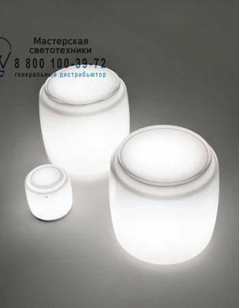 BOT LT 35 E27 белый, настольная лампа Vistosi BOT LT 35 E27