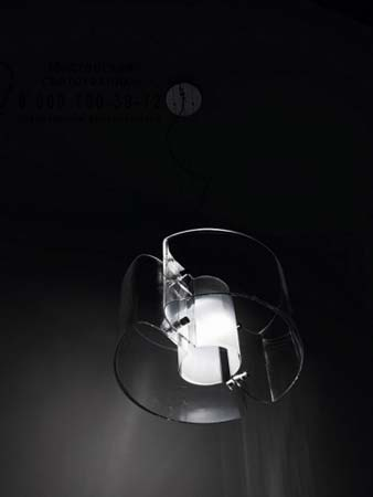 CHIMERA SP P D1 G9 прозрачный, подвесной светильник Vistosi CHIMERA SP P D1 G9