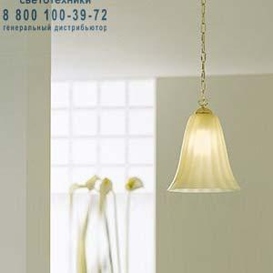 GLORIA SP E27 шелковисто-золотой, подвесной светильник Vistosi GLORIA SP E27
