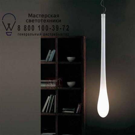 LACRIMA SP G D1 E27 белый/никель, подвесной светильник Vistosi LACRIMA SP G D1 E27